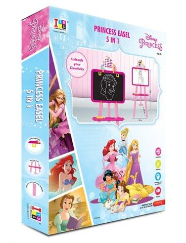 Disney Princess 5 in 1 double sided learning easel for kids