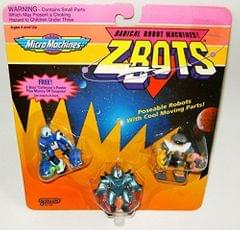 Micro Machines ZBots (Z-bots) 3 Pack #10