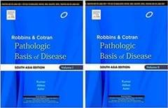 Robbins and Cotran Pathologic Basis of Disease(SET OF 2 BOOK)(vol 1 & 2)