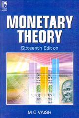MONETARY THEORY  16TH EDITION