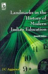 LANDMARKS IN THE HISTORY OF MODERN INDIA