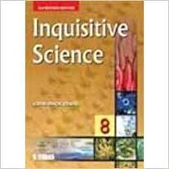 INQUISITIVE SCIENCE  FOR CLASS 8