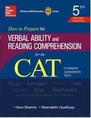 How to Prepare for Verbal Ability and reading-books-1 Comprehension for CAT (English) 5th Edition