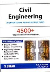 Civil engineering-books (Conventional and Objective Type) revised edition Edition
