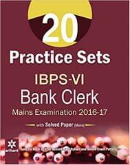 20 Practise Sets for IBPS Main