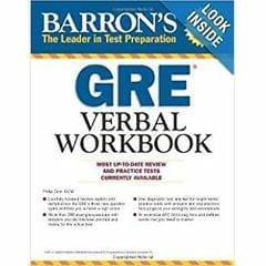 Barrons GRE Verbal Workbook�