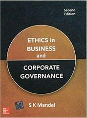Ethics in Business and Corporate Governance