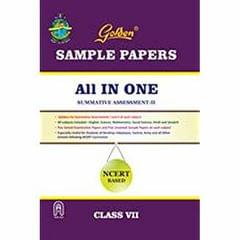 Golden Sample Paper All in One (NCERT Based) for Class - VII
