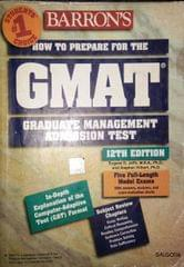 Barron's GMAT how To Prepare For The Graduate Mangenent Admission