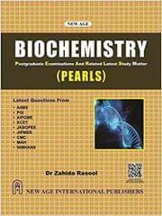 Biochemistry (Pearls)�