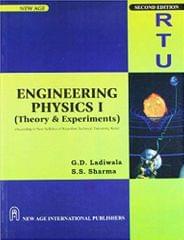 Engineering PhysicsI (Theory & Experiments) (According to New Syllabus of Rajasthan Technical University, Kota
