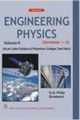 Engineering Physics  VolumeII, SemesterII (As per Latest Syllabus of Polytechnic Colleges, Tamil Nadu)
