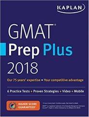 GMAT Prep Plus 2018