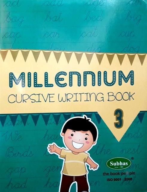 Millennium Cursuve writing book 3