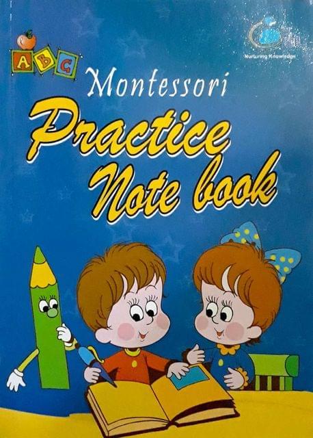 Montessori Practice Note Book