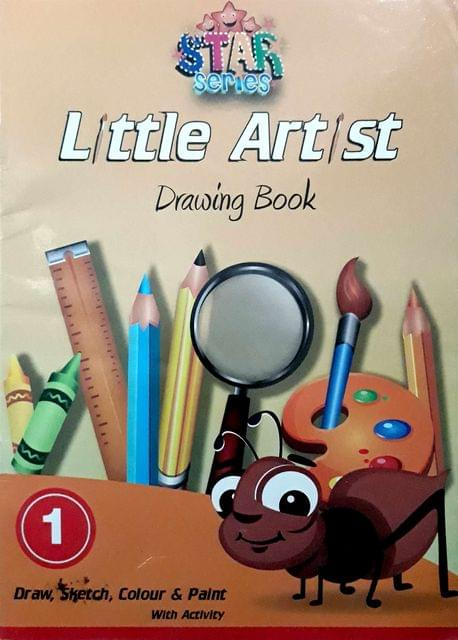 Little Artist Drawings Book-1