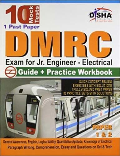 DMRC Exam for Jr. Engineer (Electrical) Guide + Practice Workbook