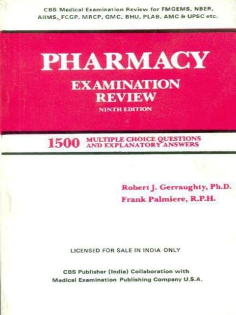 Pharmacy Examination Review, 9E