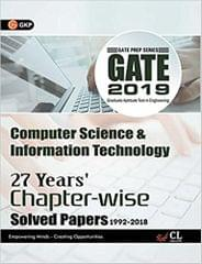 Gate Computer Science & Information Technology (27 Year�s Chapter wise Solved Papers) 2019
