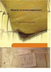 Manual of Human Embryology