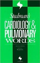 Stedman's Cardiology & Pulmonary Words (Stedman's Word Books)