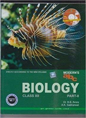Modern's ABC Biology Class 12 (Part 1 & 2) 1st Edition