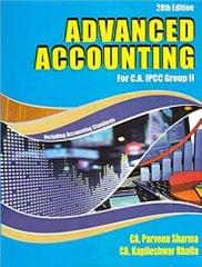 Advanced Accounting for CA IPCC Group II
