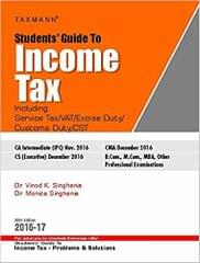 students' guide to income tex (55th edition 2016-17)