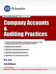 Company Accounts and Auditing Practices (CS -Executive)