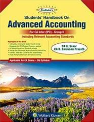 Students Handbook on Advanced Accounting Group II: for CA IPCC Old Syllabus