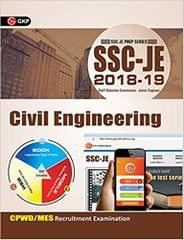 SSC - JE 2017 - Civil Engineering : CPWD / MES Recruitment Examination  (English, Paperback, GK Publications