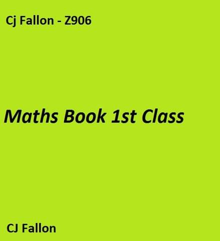 Maths Book 1st Class