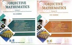 Objective Mathematics-R. D. SHARMA VOL.( 1+2 SET)