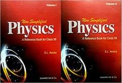 New Simplified Physics A Reference Book for Class 12 for 2019 Examination (Set of 2 Volumes)