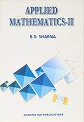 Applied Mathematics-II PB....Sharma R D