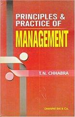 Principles & Practices of Managment (2018-2019) Session by T.N. Chhabra