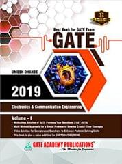 GATE 2019:Electronics & Communication Engineering - Solved Papers (32 Years) VOLUME-01