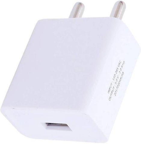 Trost 2A FAST Charger with Sync Cable for Mt Turbo Mobile Charger  (White)