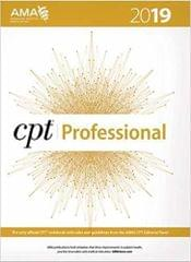 CPT Professional 2019 (CPT / Current Procedural Terminology (Professional Edition))