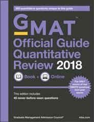 GMAT Official Guide Verbal Review 2018 (Book + Online)