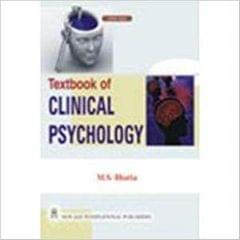 Textbook of Clinical Psychology
