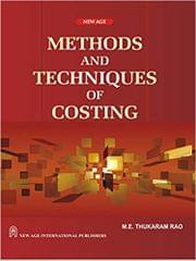 Methods and Techniques of Costing