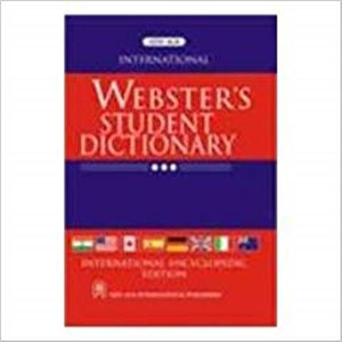 International Webster`s Student Dictionary Notebook