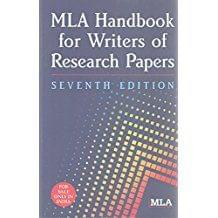 Mla Handbook Writers Of Research Papers Ed.7