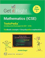 Mathematics (Icse) For Class X -Get It Right