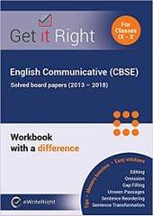 English Communicative (Cbse) Solved Board Papers - 2013-2018)