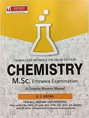 M.Sc. Entrance Exam For Chemistry