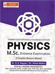 M.Sc. Entrance Exam. For Physics