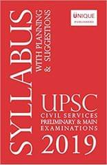 Upsc Civil Services Syllabus - 2019