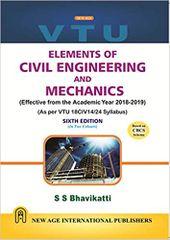 Elements Of Civil Engg & Mechanics Ed.6